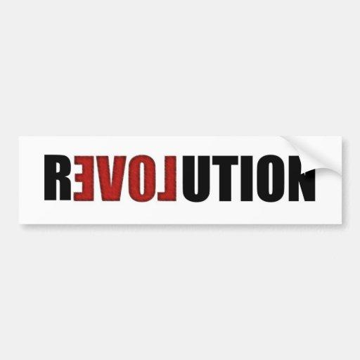 Revolution (Love) Bumper Sticker