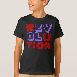 REVOLUTION LOVE (MODERN TEXT DESIGN) T-Shirt