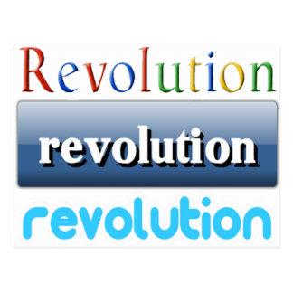 revolution postcard