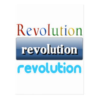 revolution postcards