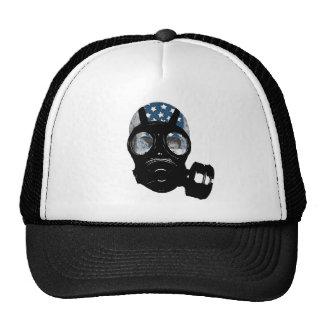 revolution protest gas mask cap
