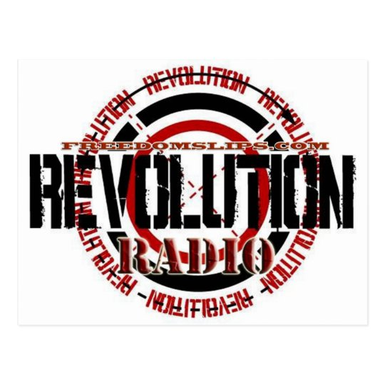 Revolution Radio Postcard