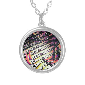 Revolution Silver Plated Necklace