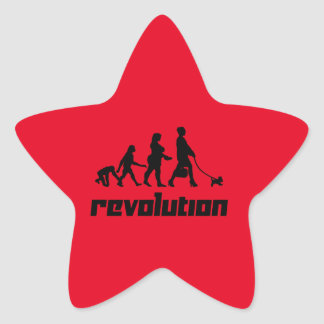 Revolution Star Sticker