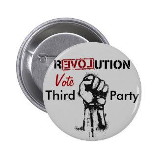 Revolution: Third Party 6 Cm Round Badge