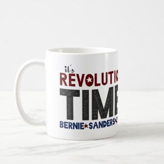 Revolution Time - Bernie Sanders 2016 Coffee Mug