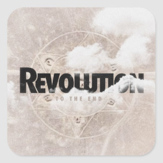 "Revolution ""To The End"" Sticker"