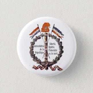 revolutionary 3 cm round badge