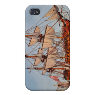 Revolutionary Painting of the Frigate Confederacy Case For iPhone 4