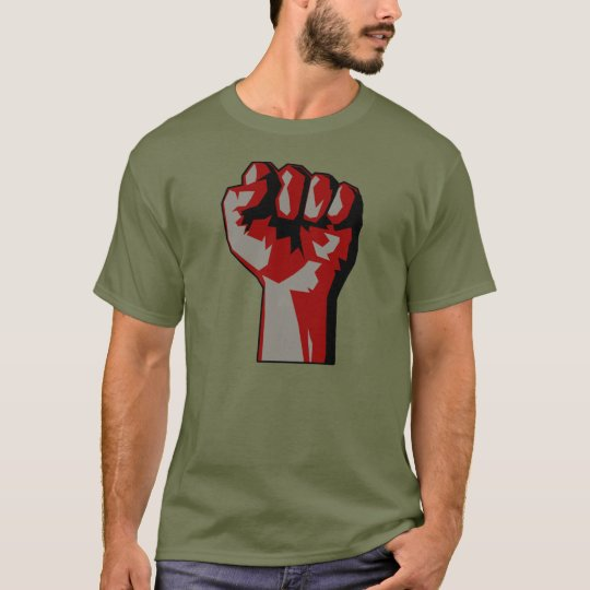 Revolutionary Raised Fist Protest T-Shirt