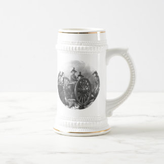 Revolutionary War Molly Pitcher Cannon Beer Steins