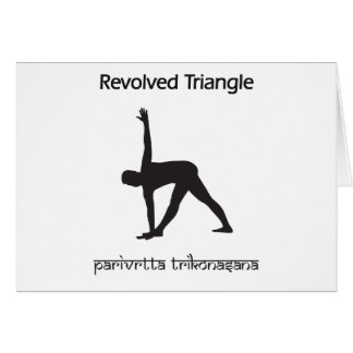 Revolved Triangle Greeting Card