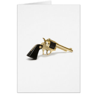 Revolver Greeting Card