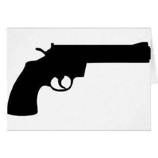 revolver greeting card