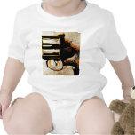 Revolver Trigger Baby Bodysuits