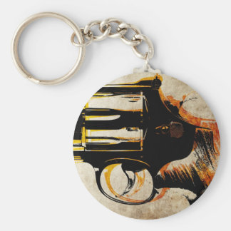 Revolver Trigger Keychain