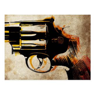 Revolver Trigger Postcard
