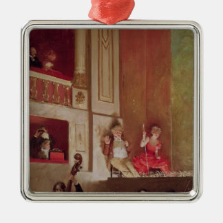 Revue at the Theatre des Varietes, c.1885 Christmas Ornament