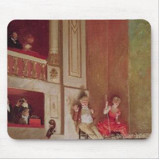 Revue at the Theatre des Varietes, c.1885 Mouse Mat