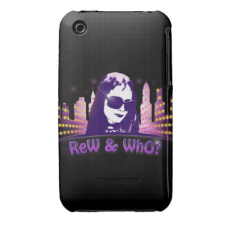 Rew &Who City Scape  Iphone 3g case iPhone 3 Case-Mate Case