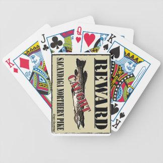 Reward Northern Pike Playing Cards
