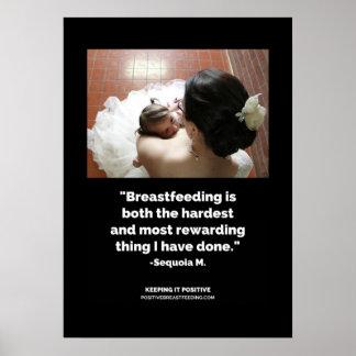 Rewarding Breastfeeding Poster