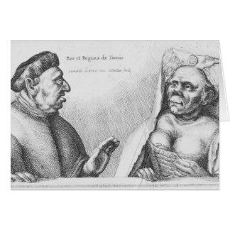 Rex et Regina de Tunis Card