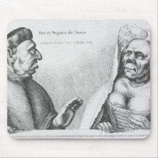 Rex et Regina de Tunis Mouse Mat