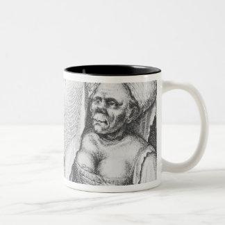 Rex et Regina de Tunis Two-Tone Coffee Mug