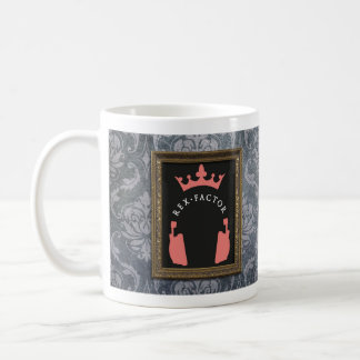 Rex Factor Logo, Patterned Coffee Mug