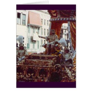 Rex King of Mardi Gras 1983 Card