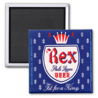 Rex Pale Lager Beer Magnet
