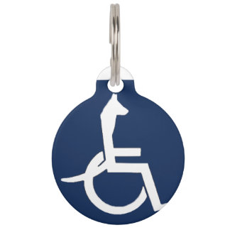Rex Wheelchair Pet Tag