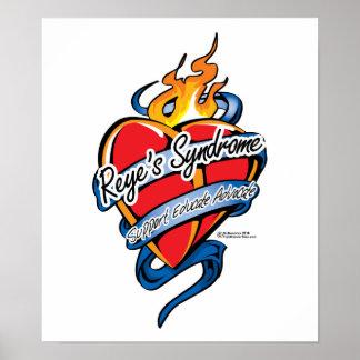 Reye s Syndrome Tattoo Heart Print