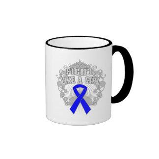 Reyes Syndrome Fight Like A Girl Fleurish Coffee Mugs