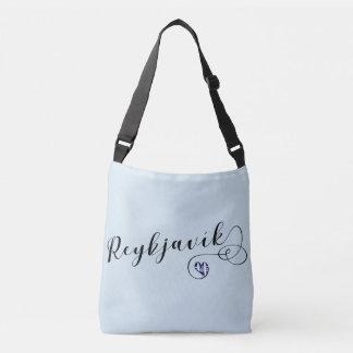 Reykjavík Heart Customizable Bag, Iceland Crossbody Bag