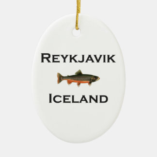 Reykjavik Iceland Christmas Ornament