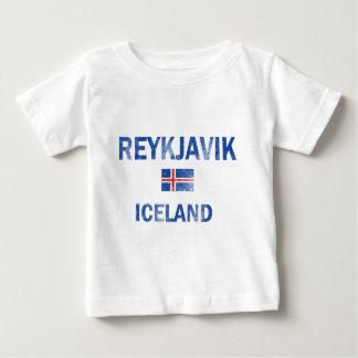 Reykjavik Iceland Designs Baby T-Shirt