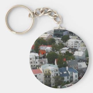 Reykjavik Iceland Keychain