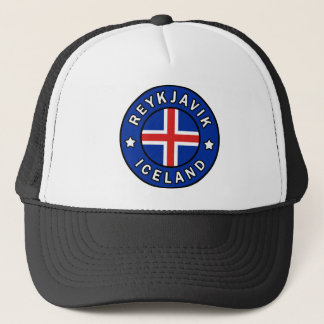 Reykjavik Iceland Trucker Hat