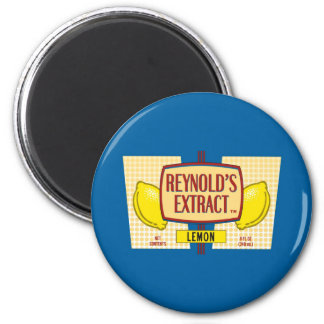 Reynold's Extract Lemon Extract Movie Mike Judge 6 Cm Round Magnet