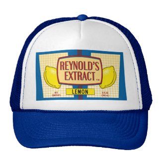 Reynold's Extract Lemon Extract Movie Mike Judge Cap