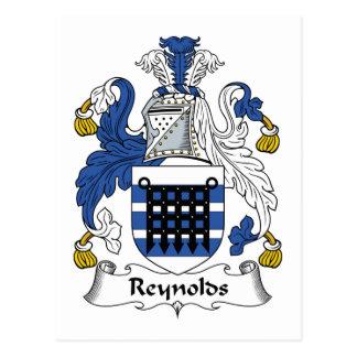 Reynolds Family Crest Postcard