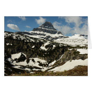 Reynolds Mountain from Logan Pass at Glacier Park Greeting Card