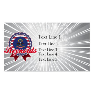 Reynolds, ND Business Card Templates