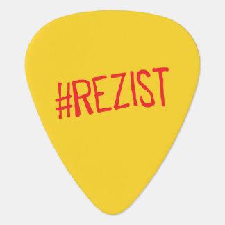 rezist romania political slogan resist protest sym plectrum
