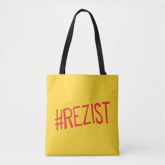 rezist romania political slogan resist protest sym tote bag
