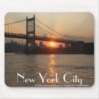 RFK Bridge at Sunset New York City Mousepad