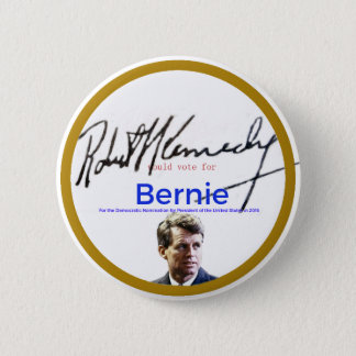 RFK for Bernie Sanders 6 Cm Round Badge