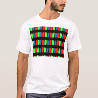 RGB LCD display micrograph T-Shirt